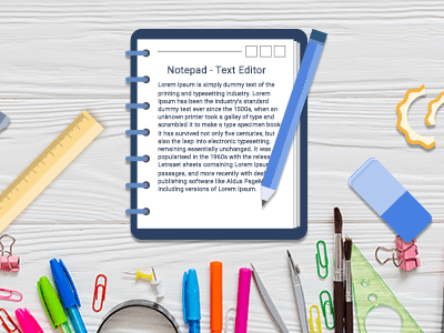 Notepad – Text Editor